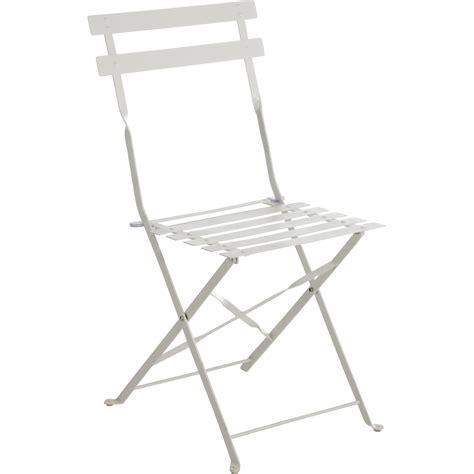 chaise jardin leroy merlin chaise de jardin en acier flore blanc leroy merlin