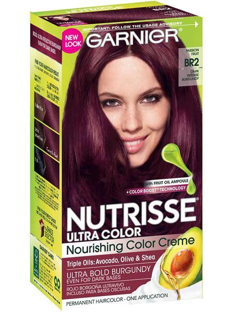 Ultra Brown Hair Dye by Nutrisse Ultra Color Burgundy Hair Color