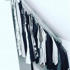 Kleiderstange Für Dachschräge : die besten 25 kleiderstange ikea ideen auf pinterest kleideraufbewahrung ikea ~ Frokenaadalensverden.com Haus und Dekorationen