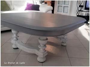 Table Cuisine Grise : cette ancienne table de salle manger avait besoin de s 39 claircir les id es apr s que ses pieds ~ Teatrodelosmanantiales.com Idées de Décoration