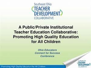 A Public-Private Teacher Development Collaborative ...