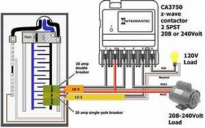 Ca3750 Intermatic Intouch 220volt Dpst Wiring Diagram