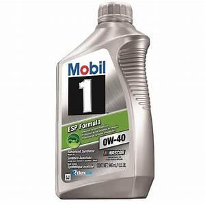 Mobil 1 0w40 Esp : mobil1 1238751 esp formula engine oil 0w 40 1 quart ~ Kayakingforconservation.com Haus und Dekorationen