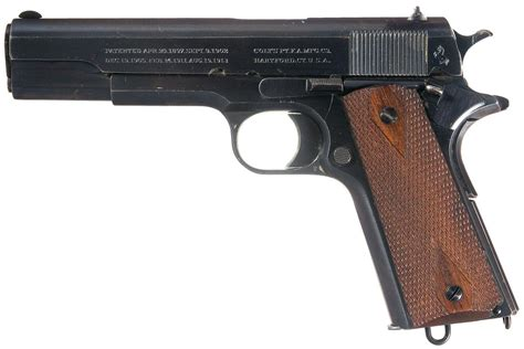 Excellent Wwii Production Colt Government Model 45 Semi