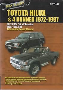 Toyota Hi-lux 4runner Petrol Repair Manual 1972-1997 Ellery New