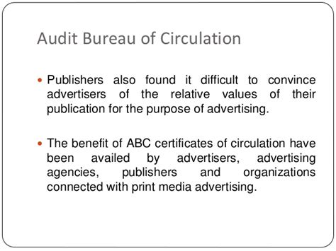 audit bureau of circulations newspapers audit circulation bureau opinions on audit bureau of