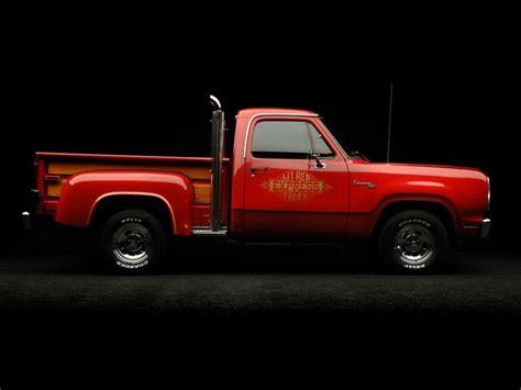 dodge adventurer lil red express truck pickup hot