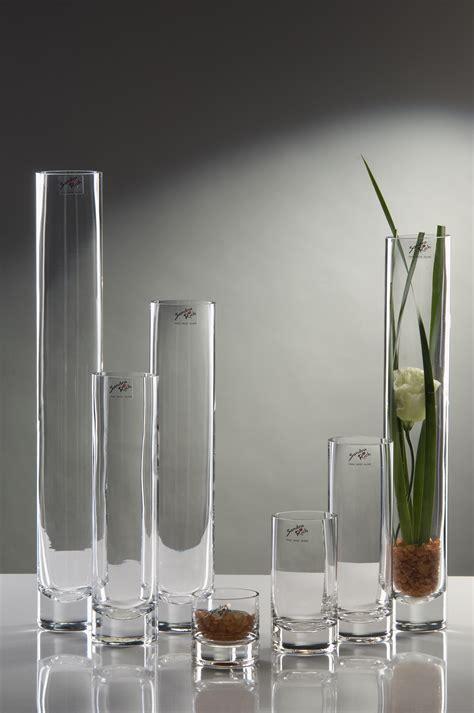 Vase Schmal Hoch glasvase vase blumenvase schmale tischvase glas tischdeko