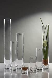 Glasvase 60 Cm Hoch : glasvase vase blumenvase schmale tischvase glas tischdeko hoch 36 cm ebay ~ Bigdaddyawards.com Haus und Dekorationen