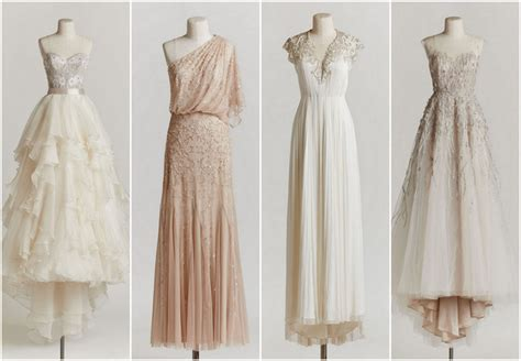 vintage bohemian wedding inspiration vintage elbise modelleri 2015