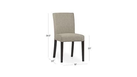 Crate And Barrel Lowe Chair Persimmon by Lowe Khaki Upholstered Dining Chair Crate And Barrel
