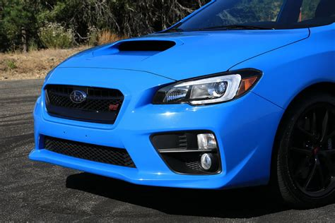 subaru blue 2016 subaru wrx sti series hyperblue first drive digital