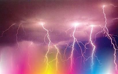 Lightning Storm Wallpapers Desktop Pink Backgrounds Background