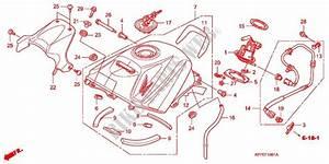 Fuel Tank  Cbr125rw7  Rw9  Rwa  For Honda Cbr 125 2007   Honda Motorcycles  U0026 Atvs Genuine Spare