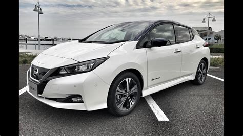 nissan leaf  full review test drive  ces