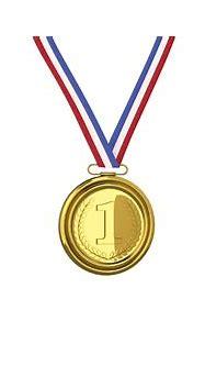 3D gold medal - TurboSquid 1353942