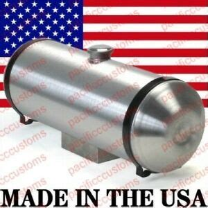 spun aluminum fuel tank with sump for fuel injection 10 x 30 inch center fill ebay