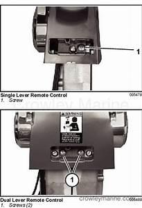 Binnacle Mount Remote Control Installation And User U2019s Guide