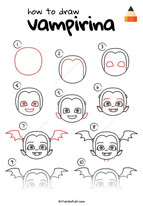 How To Draw Vampirina