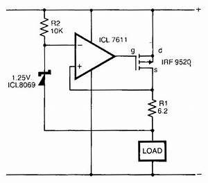 safe constant current source circuit diagram electronic With current source circuit with cw117 basiccircuit circuit diagram
