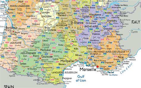 Carte Sud Montpellier by Carte De Sud Images Arts Et Voyages