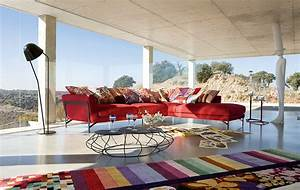Living Room Inspiration  120 Modern Sofas By Roche Bobois  Part 1  3