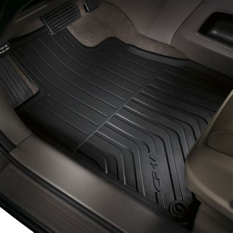 floor mats for honda crv 08p13 t0a 110a honda all season floor mats crv bernardi parts