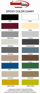 Color Charts Patterns Diamond Kote Decorative Concrete