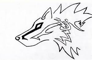 Celtic Tribal Wolf by Strider3750 on DeviantArt