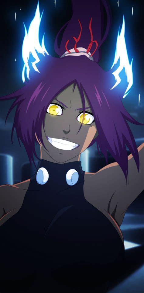 Anime Bleach Yoruichi Bleach Ch 657 Yoruichi God Of Thunder By