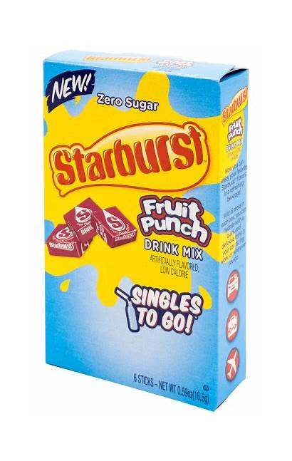 Punch Fruit Singles Starburst Drink Mix Bottle