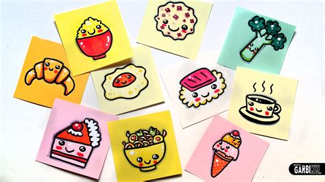 cuisine kawaii free coloring pages of garbi kw