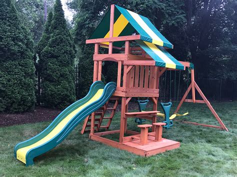 Backyard Discovery Independence Swing Set by Playset Assembler Swing Set Installer Lincoln Ri