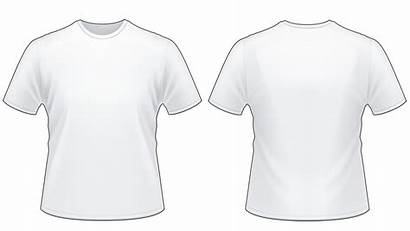 Blank Template Tshirt Worksheet Shirt Shirts Resolution