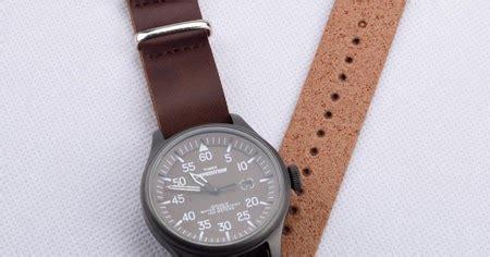 tali jam tangan nato strap leather pu talijamtangancom