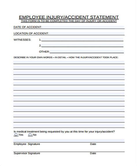 employee statement form 23 employee statement form template