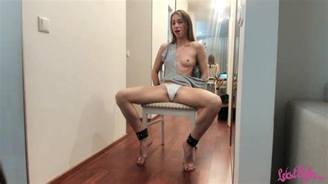 Man Made Tied Girl Squirting Orgasm Using Sex Toys Porn