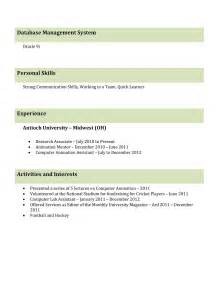 interview resume format for freshers best professional resume templates