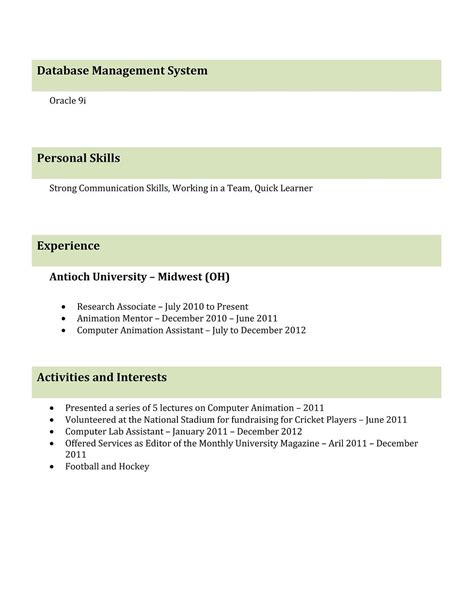 What Are The 5 Types Of Resumes by 9 Best Different Types Of Resumes Formats Sle Best