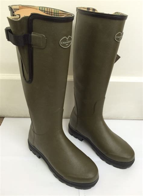 Le Chameau Ladies' Vierzon Wellington Boots   R Yates and