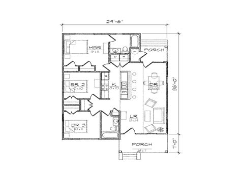 small bungalow house floor plans modern bungalow house