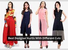 Latest Designer Kurtis with Different Cut Types LooksGudin