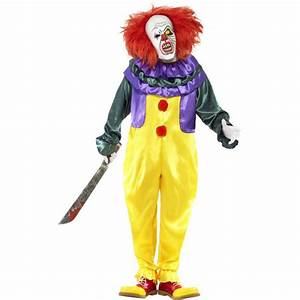 Halloween Kostüm Auf Rechnung : klassisches horror clown kost m ~ Themetempest.com Abrechnung