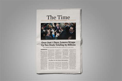Time Magazine Layout Templates Old by Old Style Newspaper Template Stockindesign