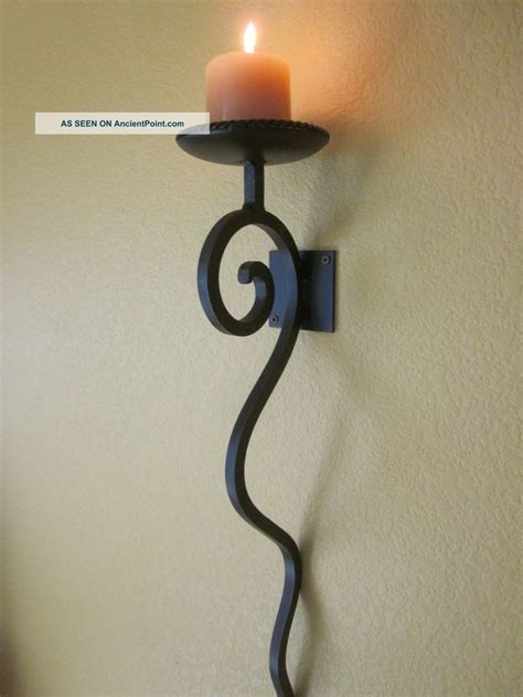 metal candle wall sconce best 25 candle wall sconces ideas on wall
