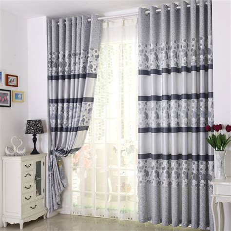 Patterned Curtains And Drapes - patterned curtains and drapes presented in modern style