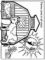 Coloring Farm Pages Printable Fair Fun County Animals Sheets Animal Sheet Jobs Tractor Farms Preschool Waupaca Links Crafts Activities Books sketch template