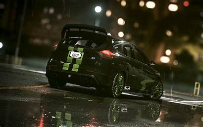 Focus Ford Rs Background Rain Widescreen Wallpapers