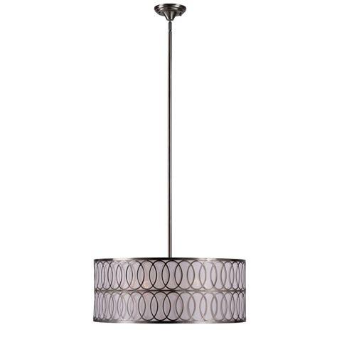 world imports lighting world imports venn 5 light brushed nickel pendant wi907537