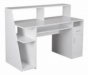 Schreibtisch 100 X 60 : multifunktion schreibtisch computertisch wei 135 x 60 x 100 cm ~ Bigdaddyawards.com Haus und Dekorationen